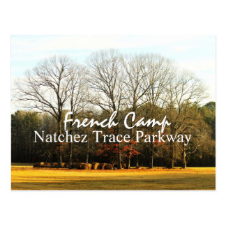 French Camp - Natchez Trace Parkway postcard