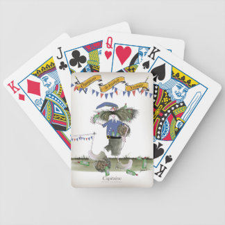 french capitaine footballeur bicycle playing cards