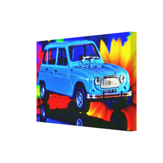 French Car - Photoworks Jean Louis Glineur Canvas Print