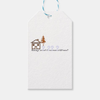 French-Castle Pack Of Gift Tags