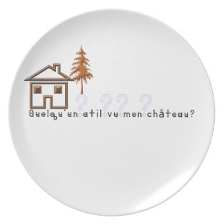 French-Castle Plate