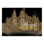 French Castle Royal Business Cards