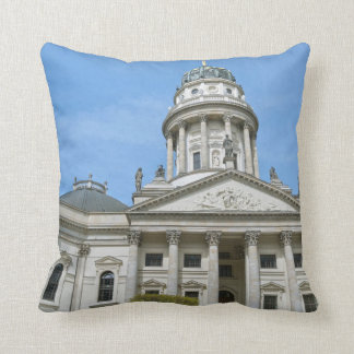 French Cathedral in Berlin Throw Pillow
