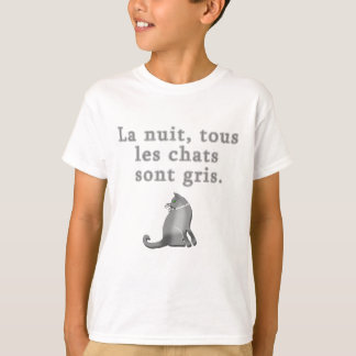 French Cats Saying Products Tees