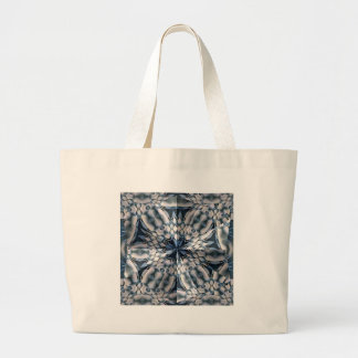 French Celtic Kaleidoscope Large Tote Bag
