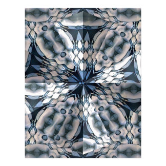 French Celtic Kaleidoscope Letterhead