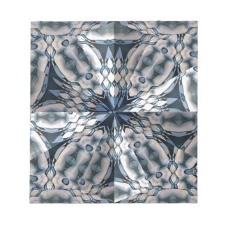 French Celtic Kaleidoscope Notepad