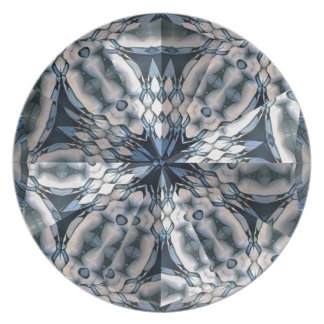 French Celtic Kaleidoscope Plate