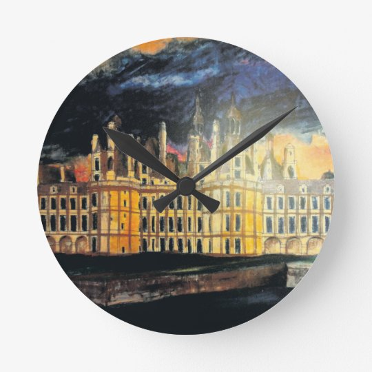 French Chateau Wall Clock