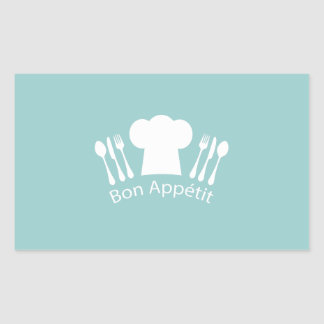 French Chef Bon Appetit Restaurant or Kitchen Sticker