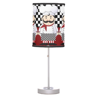 French Chef Table Lamp