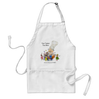 French Chefs Hat Standard Apron
