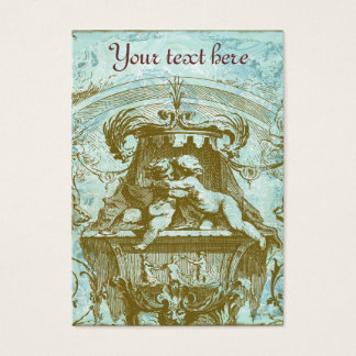 French Cherub Vintage Style Business Profile Cards