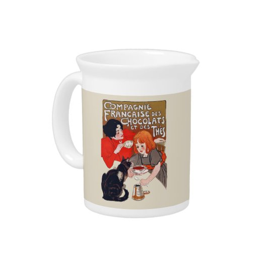 French Chocolate Party Drink Pitcher