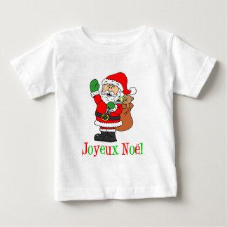 French Christmas Santa Joyeux Noel T Shirt