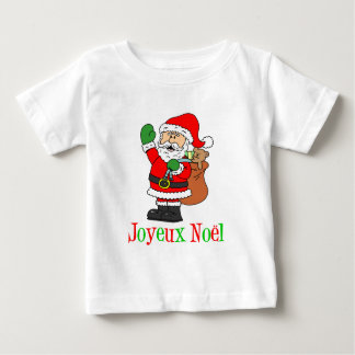 French Christmas Santa Joyeux Noel T Shirt