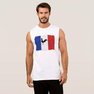 French coq sleeveless shirt