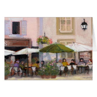 French Country Cafe Card