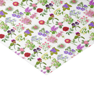 French Country Garden Floral Tissue Paper