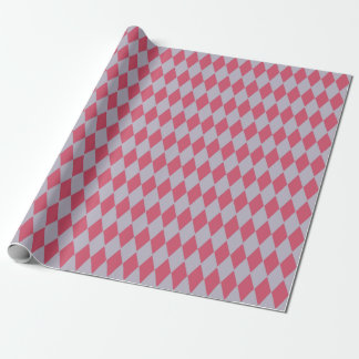 French Country Harlequin Lilac & Rose Wrapping Paper