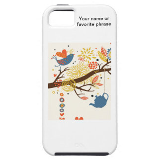 French Country Kitchen - Pans on floral pattern. iPhone 5 Covers