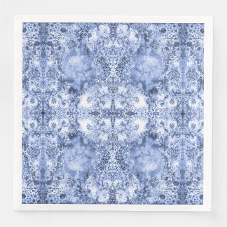 French Country Mosaic Du Vin Mandala 1 by Deprise Disposable Napkins