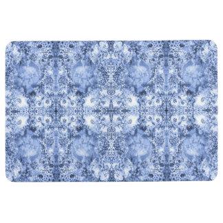 French Country Mosaic Du Vin Mandala 1 by Deprise Floor Mat