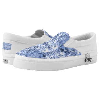 French Country Mosaic Du Vin Mandala 1 by Deprise Slip-On Sneakers