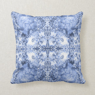 French Country Mosaic Du Vin Mandala 1 by Deprise Throw Pillow