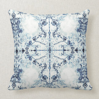 French Country Mosaic Vintage by Deprise Throw Pillow