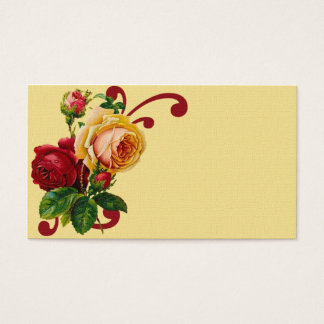 French Country Roses Business Card