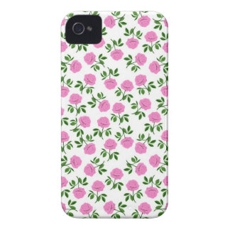French Country Tea Rose Blackberry Bold  Case iPhone 4 Cases