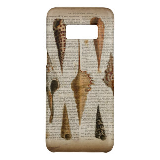 french country vintage botanical print seashell Case-Mate samsung galaxy s8 case