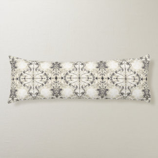 French Country Vintage Champagne Mosaic by Deprise Body Pillow