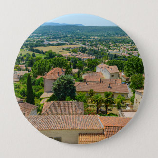 French Countryside in Provence Photograph 4 Inch Round Button