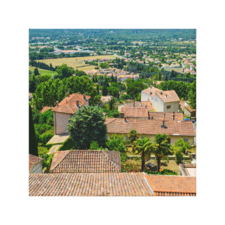 French Countryside in Provence Photograph Canvas Print