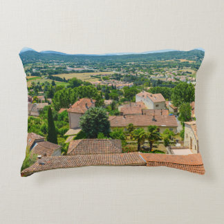 French Countryside in Provence Photograph Decorative Pillow