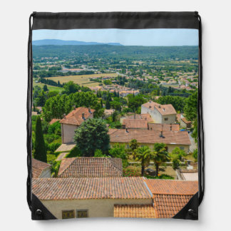 French Countryside in Provence Photograph Drawstring Bag