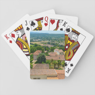 French Countryside in Provence Photograph Poker Deck
