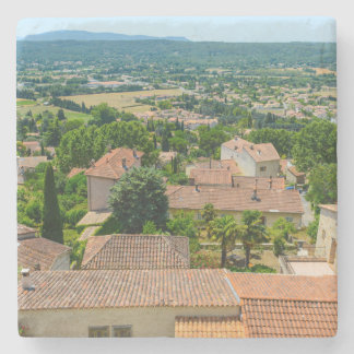 French Countryside in Provence Photograph Stone Coaster
