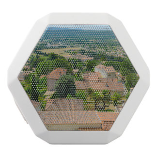 French Countryside in Provence Photograph White Bluetooth Speaker