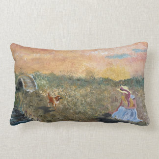 French Countryside Lumbar Support Pillow