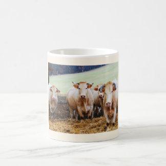 French cows coffee mug