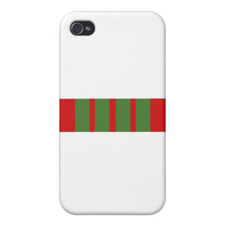 French Croix de Guerre Ribbon iPhone 4 Covers