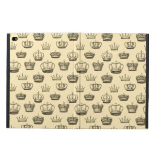 French Crowns on Gold Powis iPad Air 2 Case