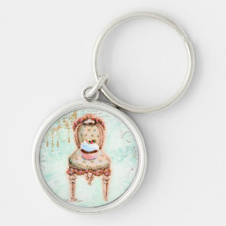 French Cupcake Victorian Style Key Chains