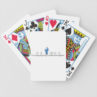 French-Daddy Bicycle Playing Cards