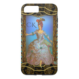 French Delight Chic Baroque Monogram Plus iPhone 7 Plus Case