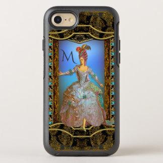 French Delightfully Unique Pretty Baroque Monogram OtterBox Symmetry iPhone 7 Case