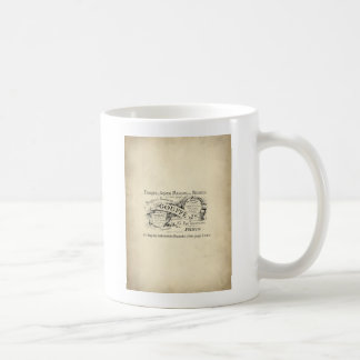 French Department Store Sign Mugs
